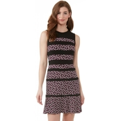 Michael Kors Mod Foulard Paneled Dress