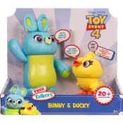 Disney Pixar Toy Story Interactive True Talkers Bunny and Ducky 2 pk.