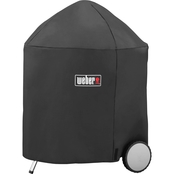 Weber 26.5 in. Kettle Grill Cover with Storage Bag