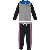 Gumballs Infant Boys 2 pc. Heather Jersey Hoodie and Pants Set