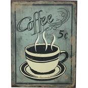 Simply Perfect 5 Cent Coffee Sign