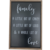Simply Perfect Saying Family Love Frame