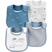 Carter's 4-Pack Animal Teething Bib