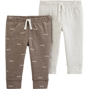 Carter's 2-Pack Cotton & Poly Pants