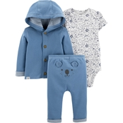 Carter's Infant Boys Little Cardigan 3 pc. Set