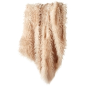 Martha Stewart Collection Longhair Faux Fur Throw