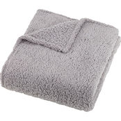 Feathersoft Sherpa Throw Blanket