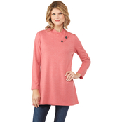 Passports Envelope Neck Knit Tunic