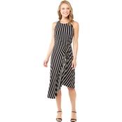 9a4b262b2cf Robbie Bee Ity Side Gathered Striped Maxi Dress