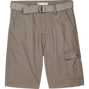 Gumballs Toddler Boys Woven Twill Cargo Shorts with Belt