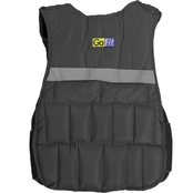 GoFit 10 lb. Adjustable Weighted Walking Vest 1 lb. to 10 lb.