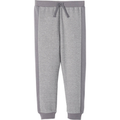 Boys French Terry Charcoal Heather Jogger Pant