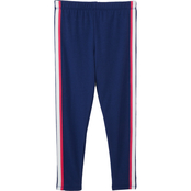 Pony Tails Little Girls Woodland Magic Navy and Magenta Leggings 2 pk.