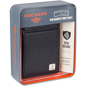 Docker's RFID Front Pocket Wallet with Magnetic Money Clip