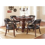 Steve Silver Tournament Dining Table with Game Top