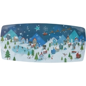 Winter Wonderland Platter Melamine