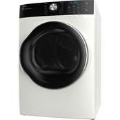 Midea 8.0CF Front Load Electric Dryer, Steam, White