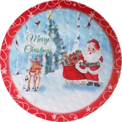 Merry Christmas Santa Tray