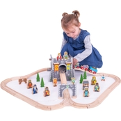 BigJigs Toys Medieval Train Set