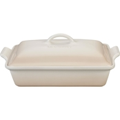 Le Creuset Heritage Covered Rectangular Casserole - Meringue