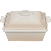 Le Creuset Heritage Covered Square Casserole - Meringue