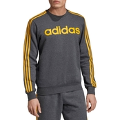 adidas Essential 3 Stripe Crew Top
