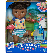 Baby Alive Step 'n Giggle Baby Doll, African-American