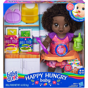 Baby Alive Happy Hungry Baby Doll, African-American