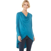 JW Drape Neck Wrap Tunic