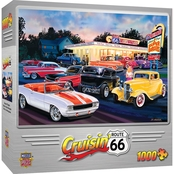MasterPieces 1000 pc. Cruisin Route Dogs and Burgers Puzzle