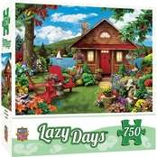 MasterPieces 750 pc. Lazy Days Waterfront Puzzle
