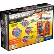 GeoMags World USA Mechanics Gravity Up and Down Circuit 330 pc. Set
