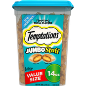 Whiskas Temptations Jumbo Stuff Tempting Tuna Cat Treats, 14 oz.