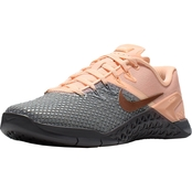 Nike Women's Metcon 4 XD Metallic Cross Training Shoes