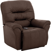 Best Home Furnishings Unity Leather Power Rocker Recliner