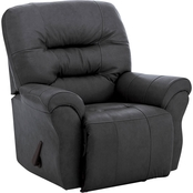 Best Home Furnishings Unity Leather Rocker Recliner