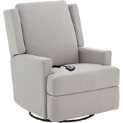 Best Home Furnishings Ainsley Power Swivel Glider Recliner
