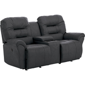 Best Home Furnishings Unity Power Reclining Loveseat with Console