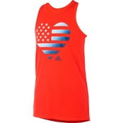 adidas Little Girls Americana Tank