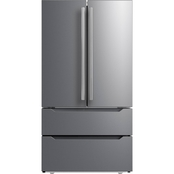 Midea 22.5 cu. ft. Counter Depth French Door Refrigerator