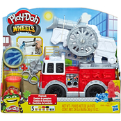 Playdoh Wheels Firetruck Toy