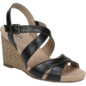LifeStride Women's Harbor Casual Wedge Sandals