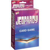 Jeopardy Card Game