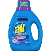 All Ultra Exhilarating Lavender Liquid Detergent 40 oz.