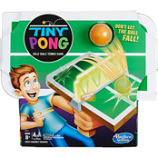 Hasbro Gaming Tiny Pong Solo Table Tennis Game