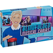 The Ellen Degeneres Show Blindfolded Musical Chairs Game