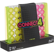 Connect 4 Neon Pop Board Game
