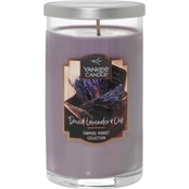 Yankee Candle Dried Lavender and Oak Medium Perfect Pillar Candle