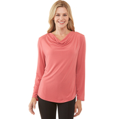 PP Long sleeve Drape Top