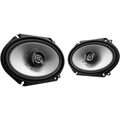 Kenwood Sport Series Coaxial  2-Way 250 Watt Speakers